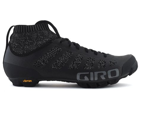 Giro Empire VR70 Knit Mountain Bike Shoe (Black/Charcoal) (41)