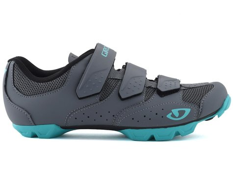 Giro Women's Riela RII Cycling Shoe (Dark Shawdow/Glacier) (38)