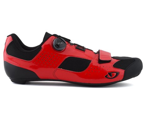 Giro Trans Boa Road Shoes (Bright Red/Black) (45)