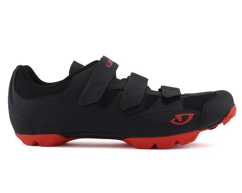 Giro Carbide RII Cycling Shoe (Black/Red) (43)