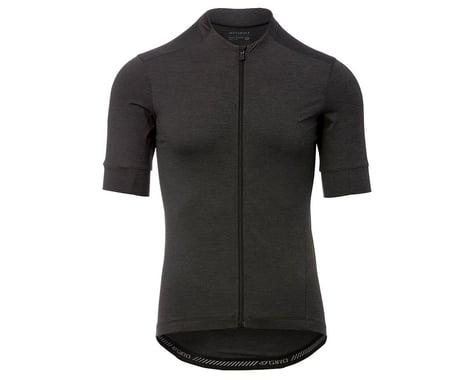 Giro Men's New Road Short Sleeve Jersey (Charcoal Heather) (S)