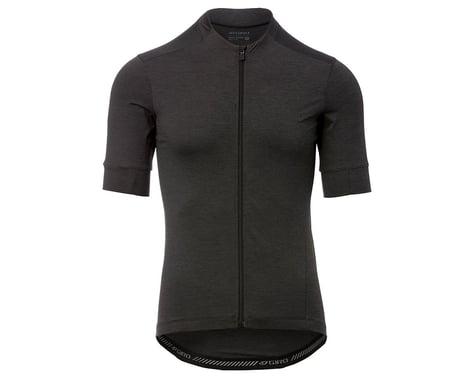 Giro Men's New Road Short Sleeve Jersey (Charcoal Heather) (XL)
