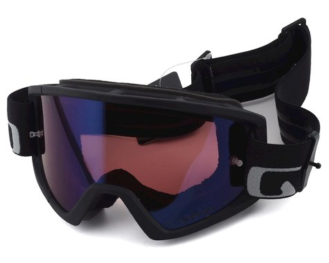 Giro Tazz Mountain Goggles (Black/Grey) (Vivid Trail Lens)