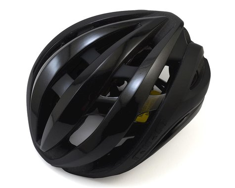 Giro Aether Spherical Road Helmet (Matte Black) (L)