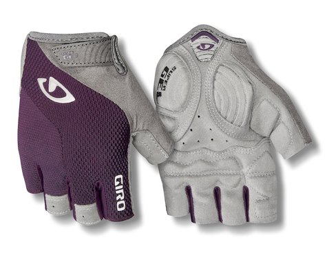 Giro Women's Strada Massa Supergel Gloves (Dusty Purple/White) (S)