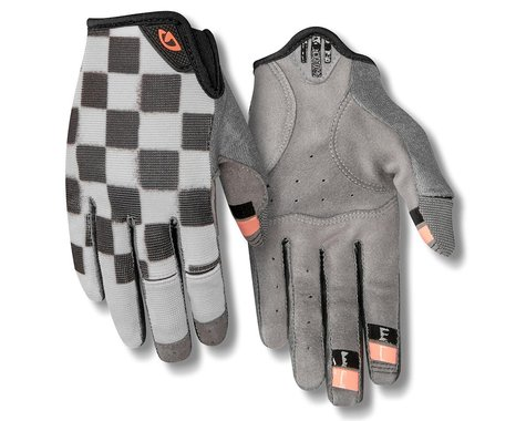 Giro Women's LA DND Gloves (Checkered Peach) (S)