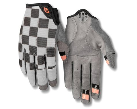 Giro Women's LA DND Gloves (Checkered Peach) (L)
