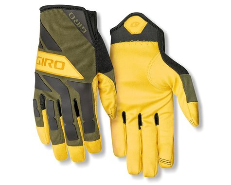 Giro Trail Builder Gloves (Olive/Buckskin) (XL)