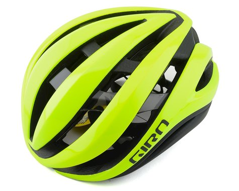 Giro Aether Spherical Road Helmet (Highlight Yellow/Black) (M)