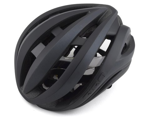 Giro Aether Spherical Road Helmet (Mattte Black Flash) (L)