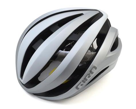 Giro Aether Spherical Road Helmet (Matte White/Silver) (M)