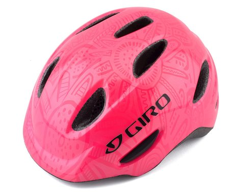 Giro Kids's Scamp Bike Helmet(Bright Pink/Pearl) (S)