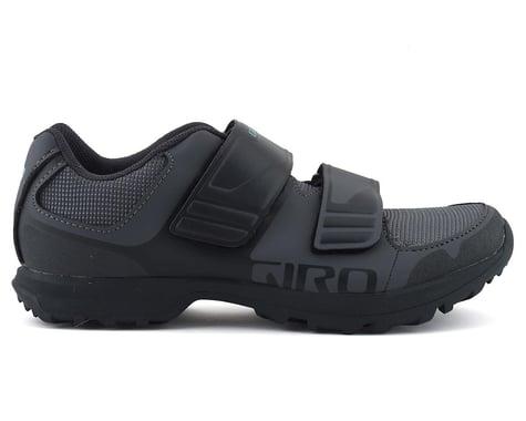 Giro Berm Women's Mountain Bike Shoe (Titanium/Dark Shadow) (40)
