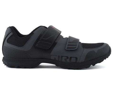 Giro Berm Mountain Bike Shoe (Dark Shadow/Black) (45)