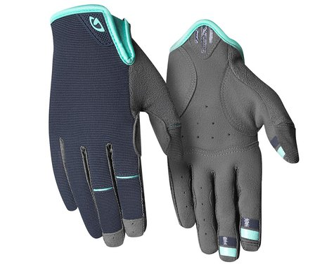 Giro Women's LA DND Gloves (Midnight Blue/Cool Breeze) (L)