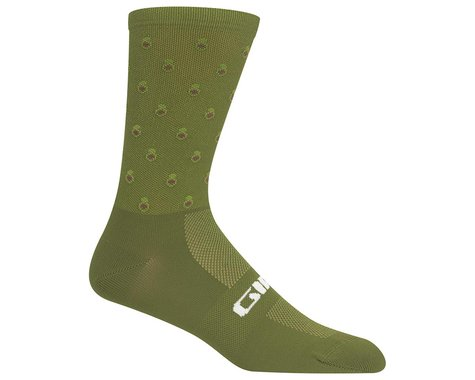 Giro Comp Racer High Rise Socks (Avocado) (XL)