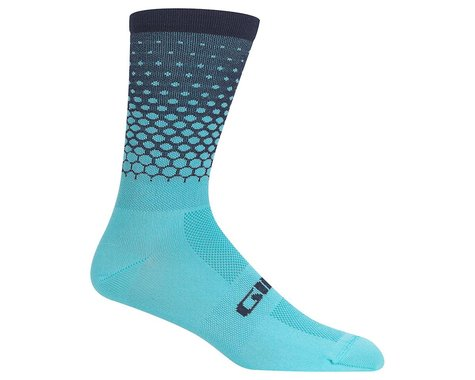Giro Comp Racer High Rise Socks (Iceberg/Midnight) (S)