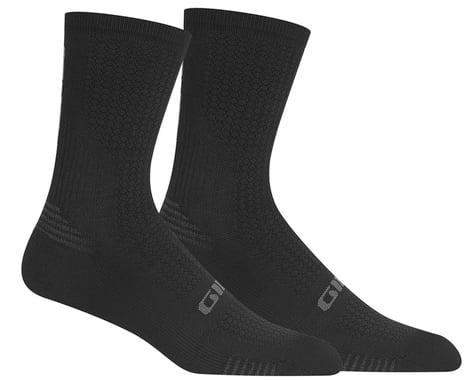 Giro HRc+ Grip Socks (Black/Charcoal) (L)