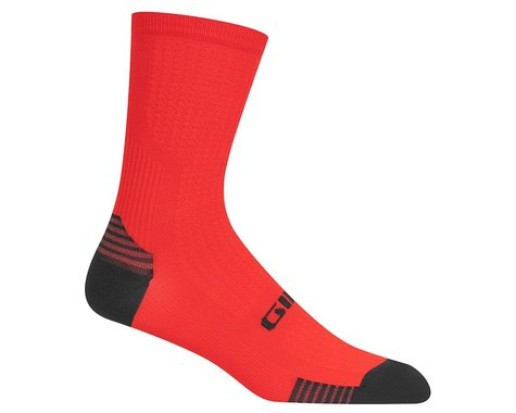 Giro HRc+ Grip Socks (Red) (M)