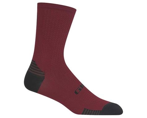 Giro HRc+ Grip Socks (Dark Red) (L)