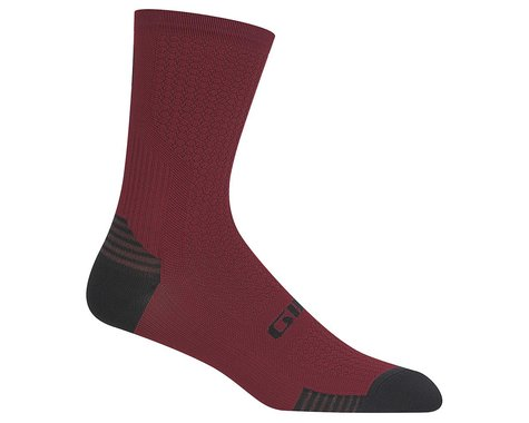 Giro HRc+ Grip Socks (Dark Red) (XL)