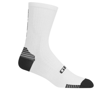 Giro HRc+ Grip Socks (White/Black) (S)