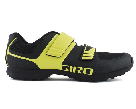 Giro Berm Mountain Bike Shoe (Black/Citron Green) (39)