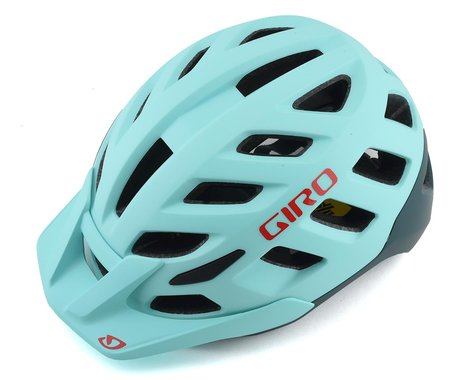Giro Radix Women's Mountain Helmet w/ MIPS (Matte Cool Breeze/True Spruce) (M)