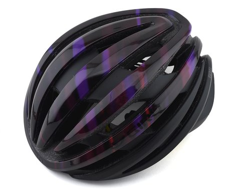 Giro Ember Road Helmet w/ MIPS (Matte Black/Electric Purple) (M)