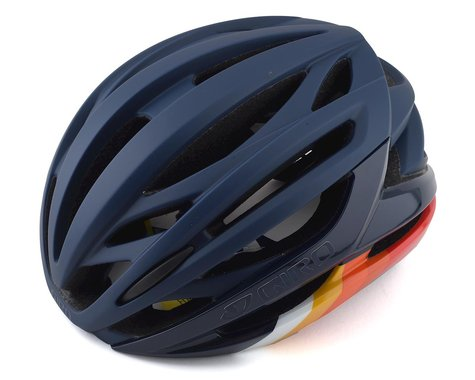 Giro Syntax MIPS Road Helmet (Matte Midnight Bars)