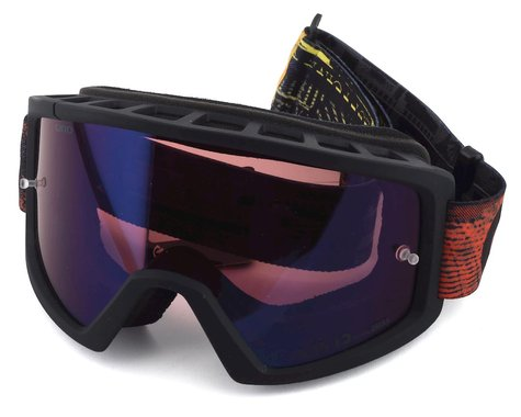 Giro Blok Mountain Goggles (Red Hyper) (Vivid Trail Lens)