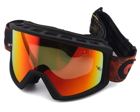 Giro Blok Mountain Goggles (Hyper Black/Red) (Amber Lens)