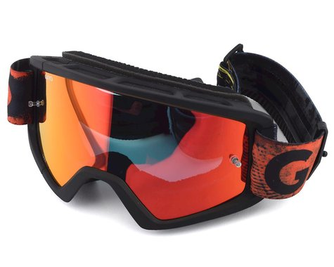 Giro Tazz Mountain Goggles (Black/Red Hyper) (Amber Lens)