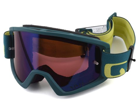 Giro Tazz Mountain Goggles (True Spruce/Citron) (Vivid Trail)