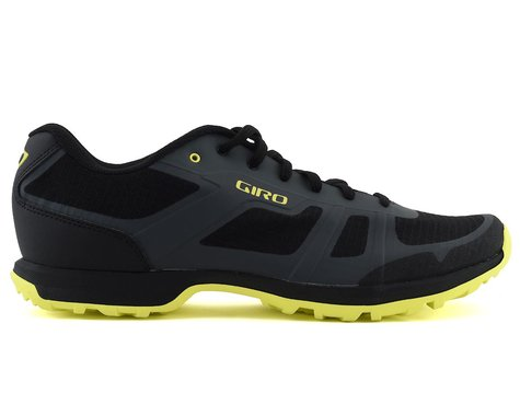 Giro Gauge Mountain Bike Shoes (Dark Shadow/Citrine Green) (40)