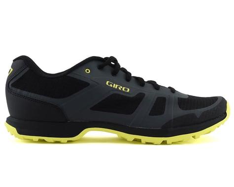 Giro Gauge Mountain Bike Shoes (Dark Shadow/Citrine Green) (45)