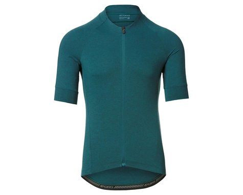 Giro Men's New Road Short Sleeve Jersey (True Spruce Heather) (S)