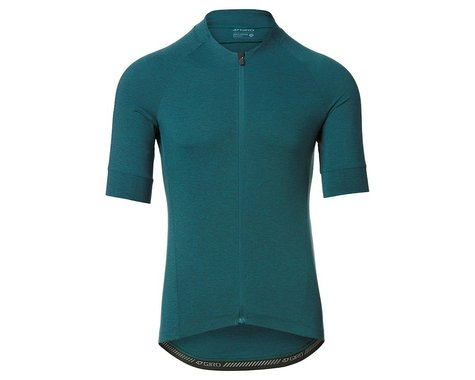Giro Men's New Road Short Sleeve Jersey (True Spruce Heather) (XL)