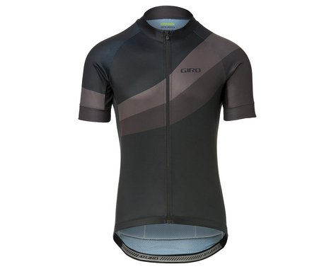 Giro Men's Chrono Sport Short Sleeve Jersey (Black Render) (M)