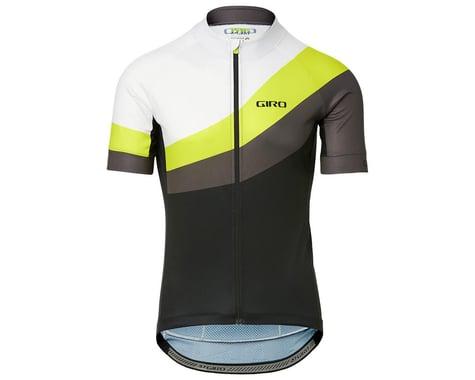Giro Men's Chrono Sport Short Sleeve Jersey (Citron Green Render) (L)