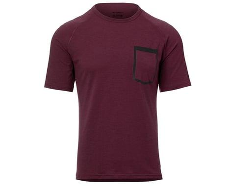 Giro Men's Venture Short Sleeve Jersey (Ox Blood) (L)