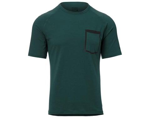 Giro Men's Venture Short Sleeve Jersey (True Spruce) (2XL)