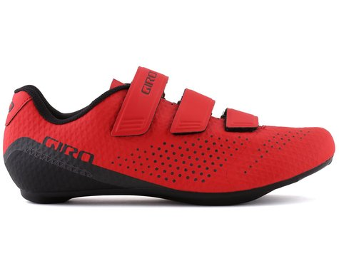 Giro Stylus Road Shoes (Bright Red) (44)