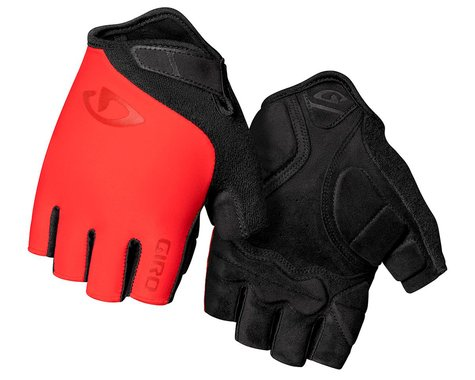 Giro Jag Short Finger Gloves (Trim Red) (S)