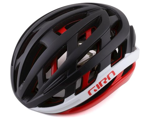 Giro Helios Spherical Helmet (Matte Black/Red) (M)