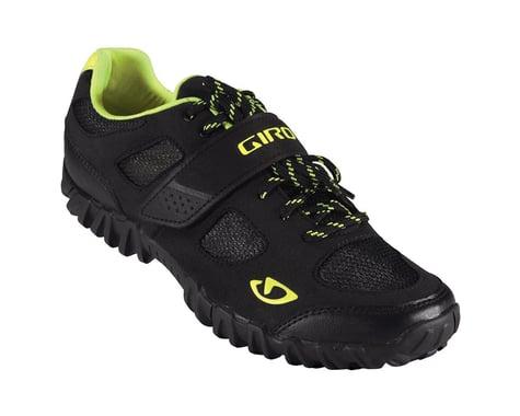 Giro Timbre Mountain Shoes - Nashbar Exclusive (Black/Highlight Yellow)