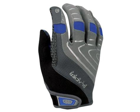 Glacier Glove Full Finger Cycling Gloves (Grey)