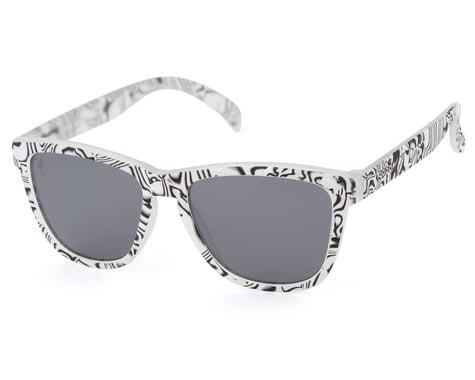 Goodr OG Cosmic Crystals Sunglasses (Zebra Jasper's Life Coach)