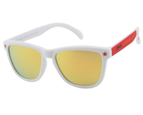 Goodr OG Six Pack Sunglasses (Clear Eyes, Full Hearts, Canned Booze)