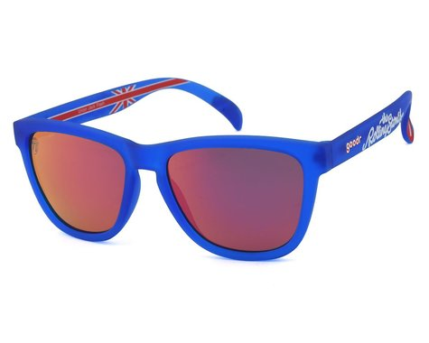 Goodr OG Rolling Stones Sunglasses (Union Jack Flash)